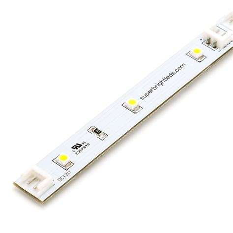 rigid linear led light bar 7 quot 48 lumens rigid led