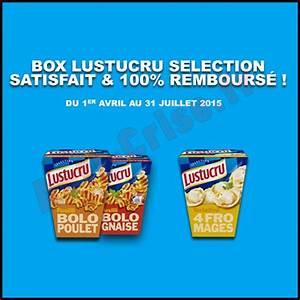 Bon De Reduction Lustucru : offre de remboursement odr lustucru box s lection satisfait et 100 rembours catalogues ~ Maxctalentgroup.com Avis de Voitures
