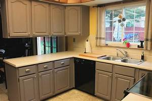 Simple raised panel door kitchen cabinets with a la mocha for Kitchen colors with white cabinets with hand drawn wall art
