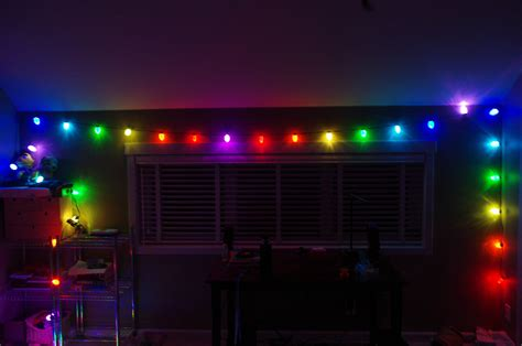 weekend project web controlled christmas lights with node