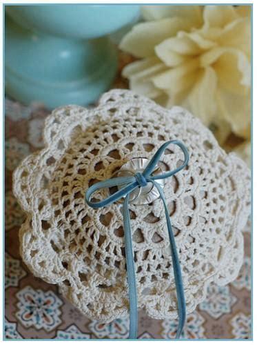 diy crochet ring bearer pillow once wed