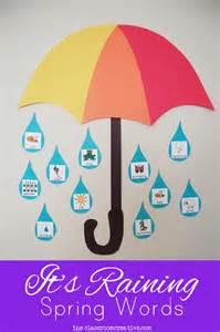 Spring Word Wall Bulletin Board Ideas