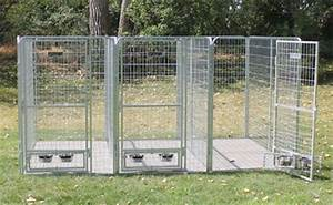 439 x 839 x 639 multiple modular welded wire professional With multi run dog kennels