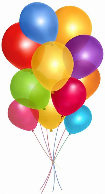 Clipart Multicolor Balloons Transparent Clipground