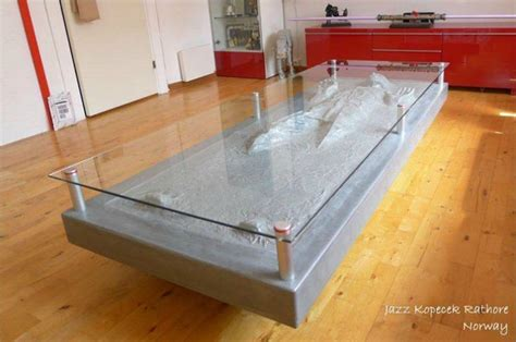 han solo  carbonite coffee table gadgetsin