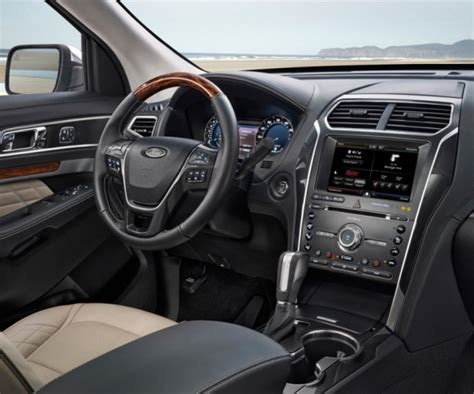 ford explorer interior 2017 ford explorer release date will buyers this time