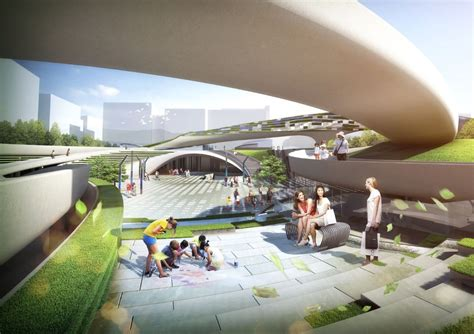 gallery  magok central plaza winning proposal