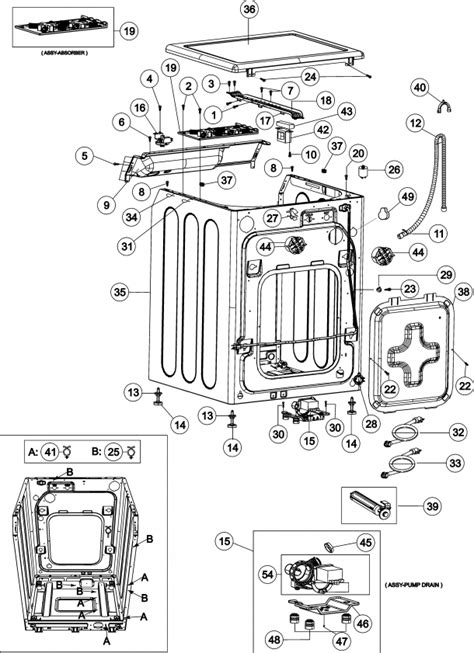maytag performa washer parts diagram automotive parts diagram images