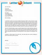 Letter Of Intent Sample Writing Professional Letters 10 Business Letter Of Intent Templates Free Sample Example Tags Example Of Letter Of Intent Example Of Letter Of Intent For Sample Letter Of Intent Free Sample Letters