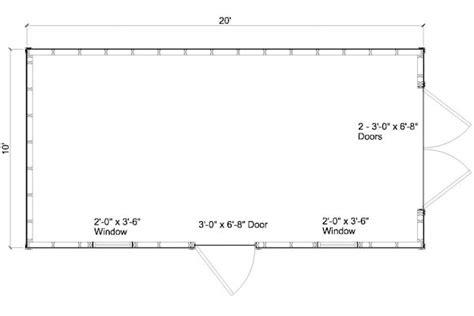 10x20 shed plans free how to build diy blueprints pdf
