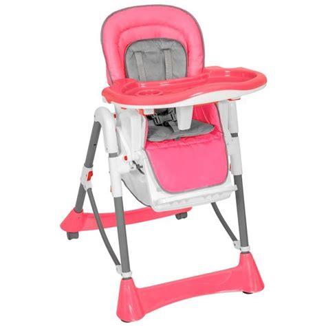chaise haute bebe fille chaise haute pour bébé enfant grand confort pliable