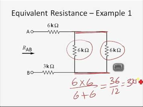 Finding Equivalent Resistance Youtube