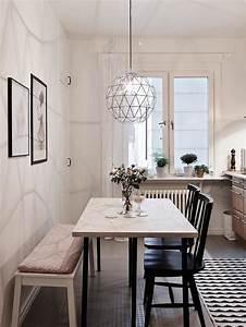 40 photos de cuisine scandinave les cuisines de reve for Salle À manger contemporaine avec suspension cuisine scandinave