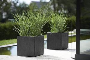 Bac A Fleur Exterieur : bac fibre de verre ardoise jardiniere graphite ext du site ~ Dailycaller-alerts.com Idées de Décoration