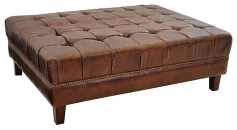 large leather ottoman coffee tables ideas modern interior design large leather