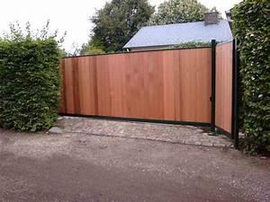 Lapeyre Portail Bois : comment fabriquer un portail en bois ~ Premium-room.com Idées de Décoration