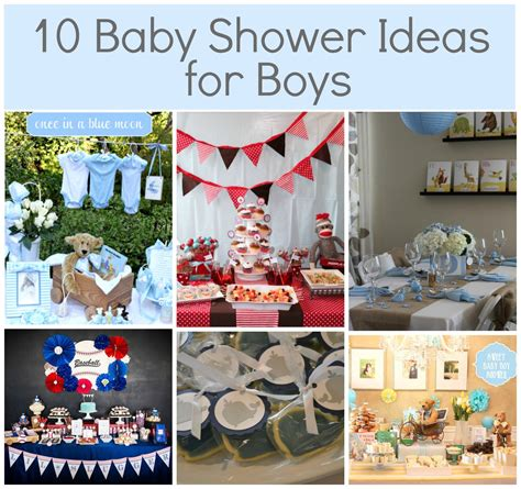 Diy Baby Shower Ideas For A Boy  Party Themes Inspiration