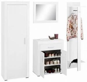 Designer Garderoben Set : garderoben set lake 4 tlg mit rahmenoptik otto ~ Indierocktalk.com Haus und Dekorationen