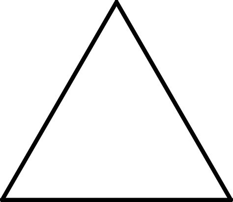 triangle blank template imgflip