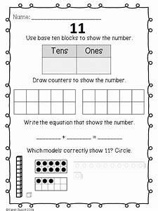 Kindergarten Number Sense  Numbers 11