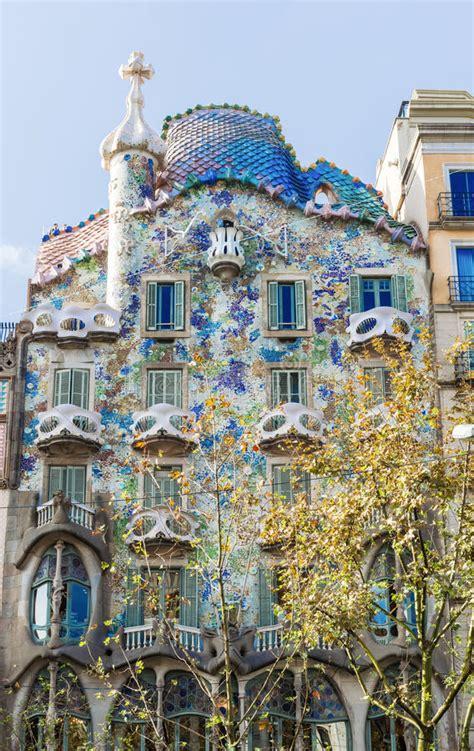 Facade Of Casa Batllo, Barcelona Editorial Photo Image