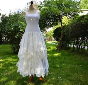 shabby chic bridesmaid dresses upcycled wedding dress tattered dress upcycled 39 s clothing shabby chic funky