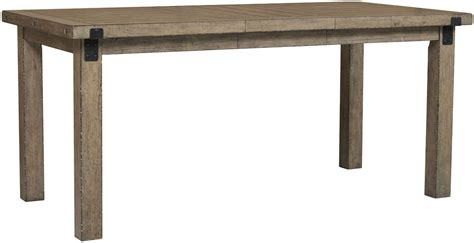 flatbush brown rectangular counter height dining table