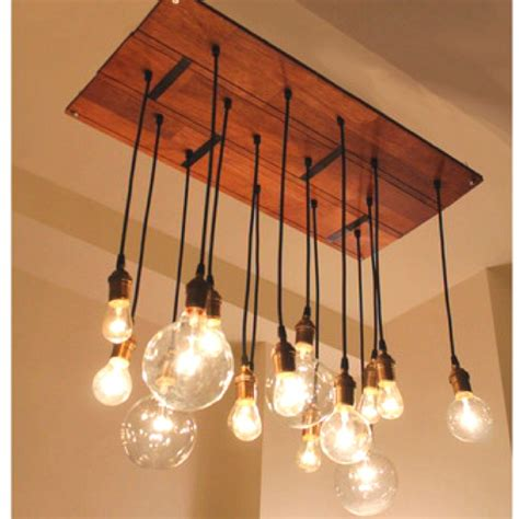 edison light chandelier new home decor