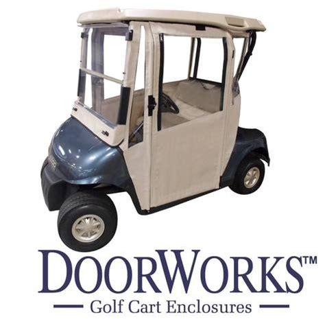 EZGO RXV All DoorWorks Hinged Door Enclosure - Sunbrella ...