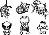 Avengers Coloring Marvel Chibi Pages Characters Super Hero Adventures Adults Printable Drawing Spiderman Wecoloringpage Widow Sheets Cartoon Superhero Drawings Superheroes sketch template