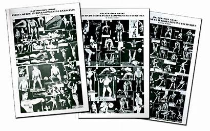 Berry Mark Training Posters Classic Oldtimestrongman Chest