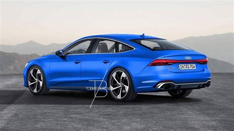2020 Audi S7 by 2020 Audi Rs7 Rendering Is Begging For 700 Hp Hybrid V8