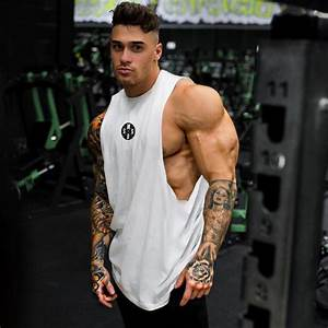 Aliexpress Com   Buy Muscleguys Mens Workout Tank Tops Fitness Bodybuilding Clothing Low Cut
