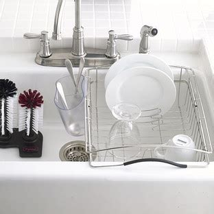 kitchen sink rack stainless steel polder stainless steel dual purpose dish rack the 8530