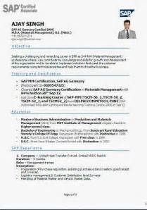 fmcg resume format sle school leaver cv template exle free apps backupdesigns