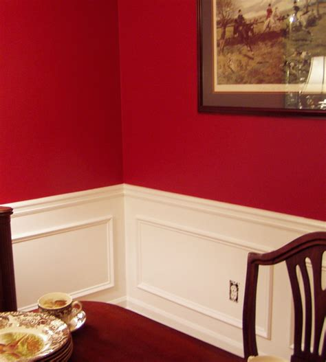 adding picture molding   dining room
