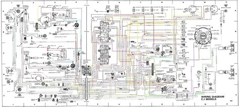 cj7 headlight switch wiring diagram wiring diagram
