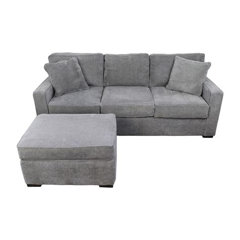 macys radley sofa bed 58 macy s macy s radley grey sofa and ottoman sofas