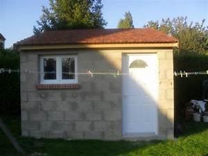 Construire Un Abri De Jardin En Parpaing : abri de jardin en parpaing une pente ~ Melissatoandfro.com Idées de Décoration