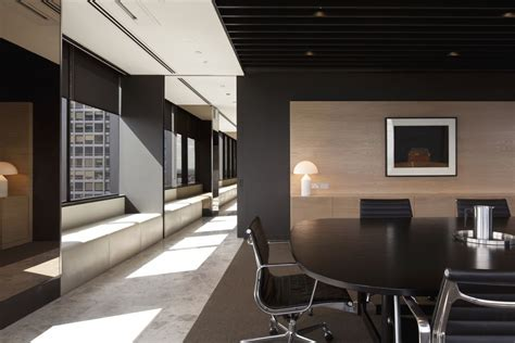 home interior business meeting area of simple but professional office interior