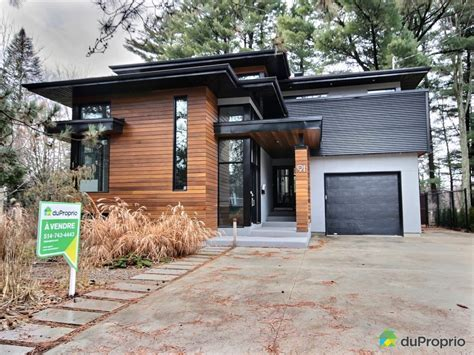 maison contemporaine a vendre maison 224 vendre mascouche 91 rue side immobilier qu 233 bec duproprio 669735 maison