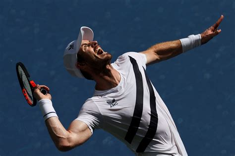 Andy murray of great britain jogs off the court during a break between sets while playing marin cilic of croatia in the quarterfinals of the 2012 us open tennis tournament, wednesday, sept. US Open ATP Match of the Day: Andy Murray vs. Felix Auger ...