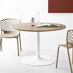 Table Ronde 120 Cm : connubia calligaris planet table manger ronde diam tre ~ Melissatoandfro.com Idées de Décoration