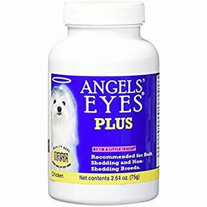 amazoncom angels39 eyes plus beef formula eye supplies With angel eyes for dogs