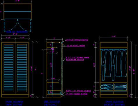 cabinet dwg detail  autocad designs cad