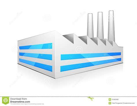 chambre du commerce et d industrie illustration d 39 usine photographie stock image 31963082