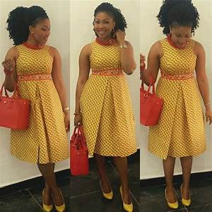 Gorgeous Ladies See Top 8 Latest Ankara short gown styles 2018 that will Make you look Good 9gist