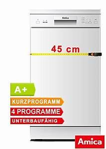 Single Spülmaschine Test : amica gsp 14742 w ~ Michelbontemps.com Haus und Dekorationen