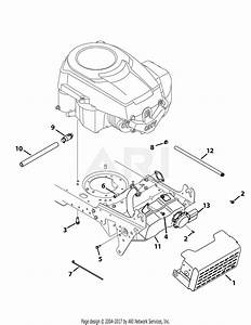 Troy Bilt 13wx79kt011 Horse  2012  Parts Diagram For