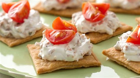 canape history easy bacon tomato appetizers recipe from pillsbury com